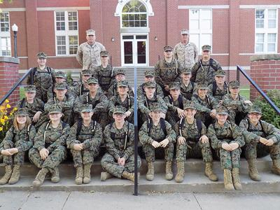 Forsyth High School's JROTC cadets and instructors