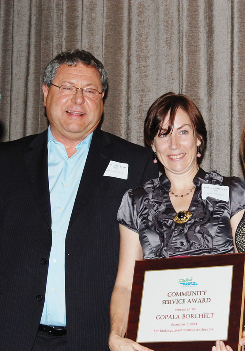 Table Rock Lake Chamber Of Commerce Community Service Award