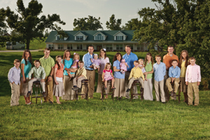 Reality TV family plans visit