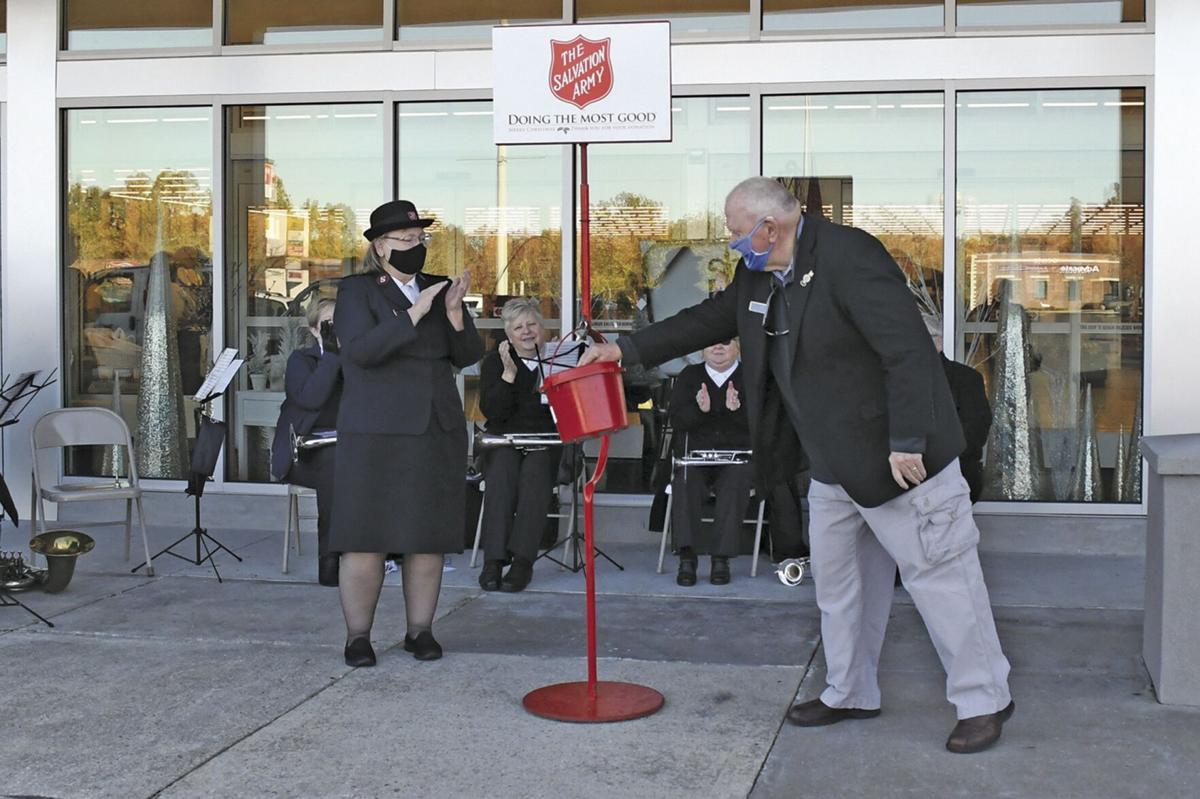 Red kettles raise more than $108,000: Branson Salvation Army exceeds fundraising goal for the year