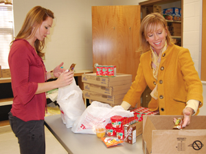 'Gifts' fight hunger