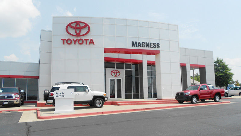 Magness Toyota Is Located At 1407 Hwy. 62 65 412 North In Harrison, Ark.  Please Call 870 741 5451 Or Toll Free 888 690 2519.
