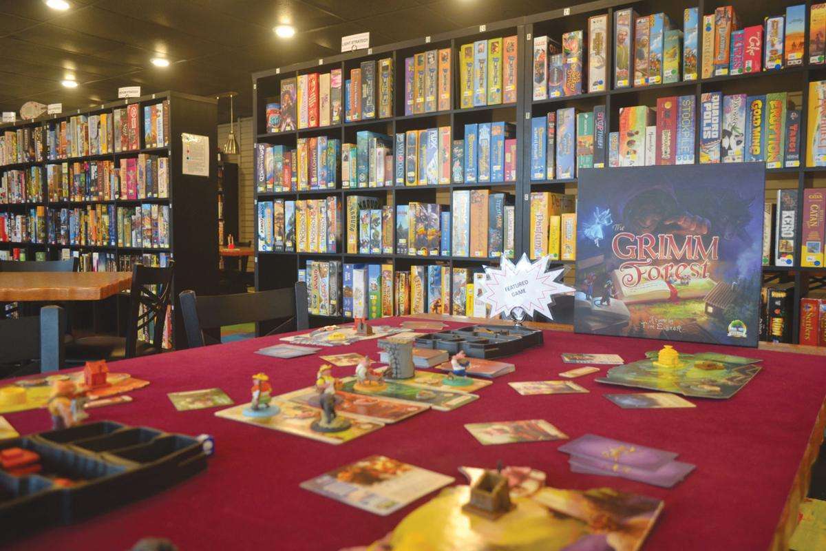 Board game cafe opens its doors in downtown