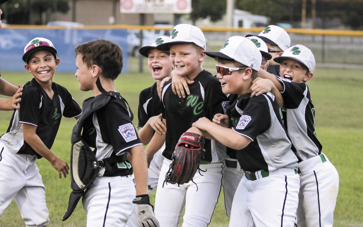 The Washington County Minor All-Stars celebrate