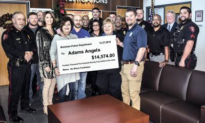 Adams Angels Donation