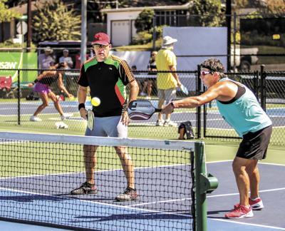 Brenham Charity Challenge mixed doubles