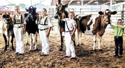 Dairy Day grand champions