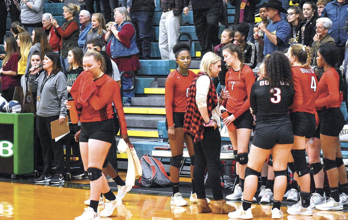 Burton Volleyball Ends Its Season