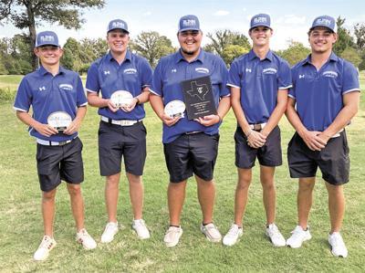 Blinn men's golf at Tyler Invitational