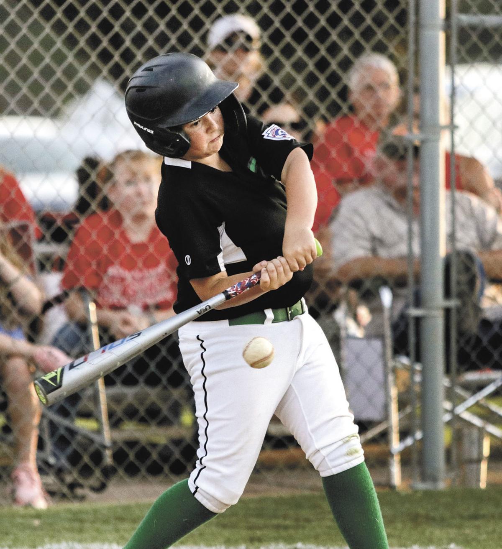 Washington County Little League's Evan Curtis