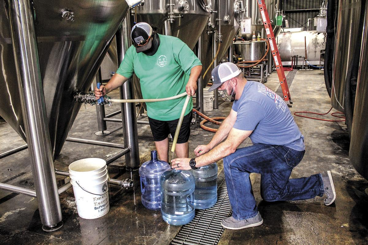 Brewery provides clean water