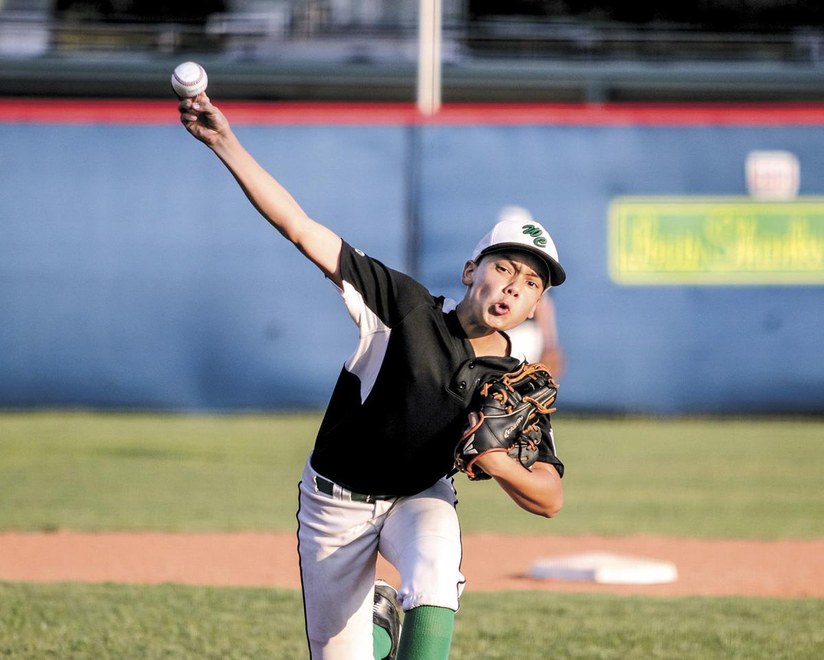 Washington County Little League's Landry Mendoza