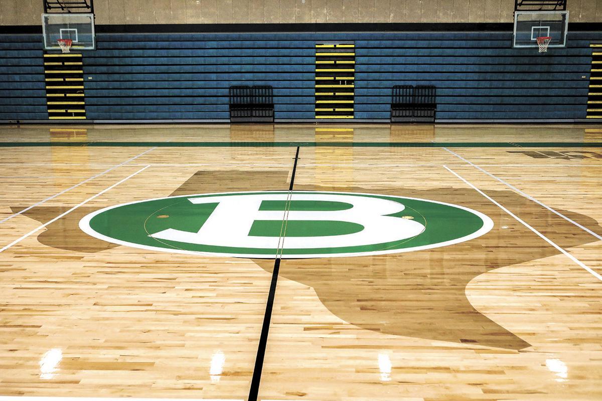 Brenham High School's New Gym Floor