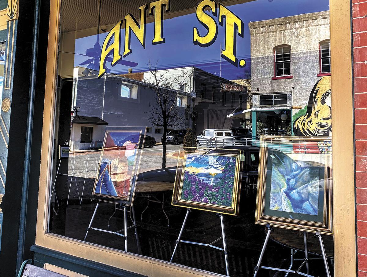 Student art at Ant Street