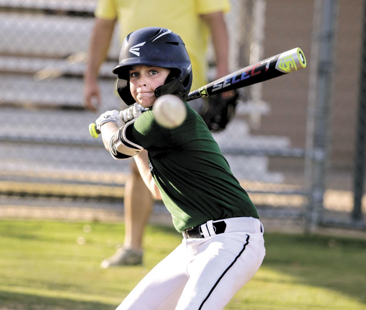 Washington County Little League Minor All-Star Hunter Myers
