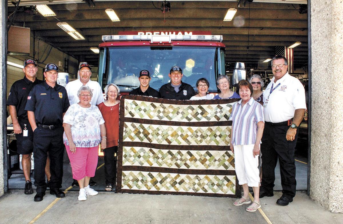 Quilt for the Fireman's Fiesta