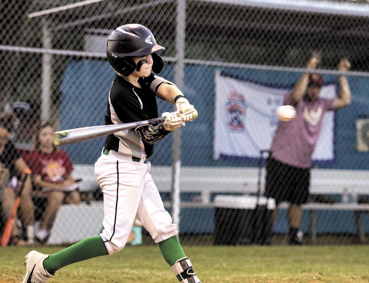 Washington County Little League's Hunter Myers