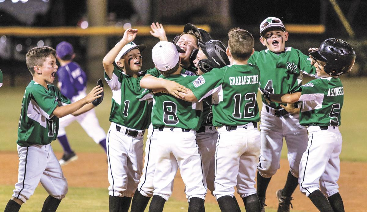 Washington County 7- and 8-year-old All-Stars celebrate