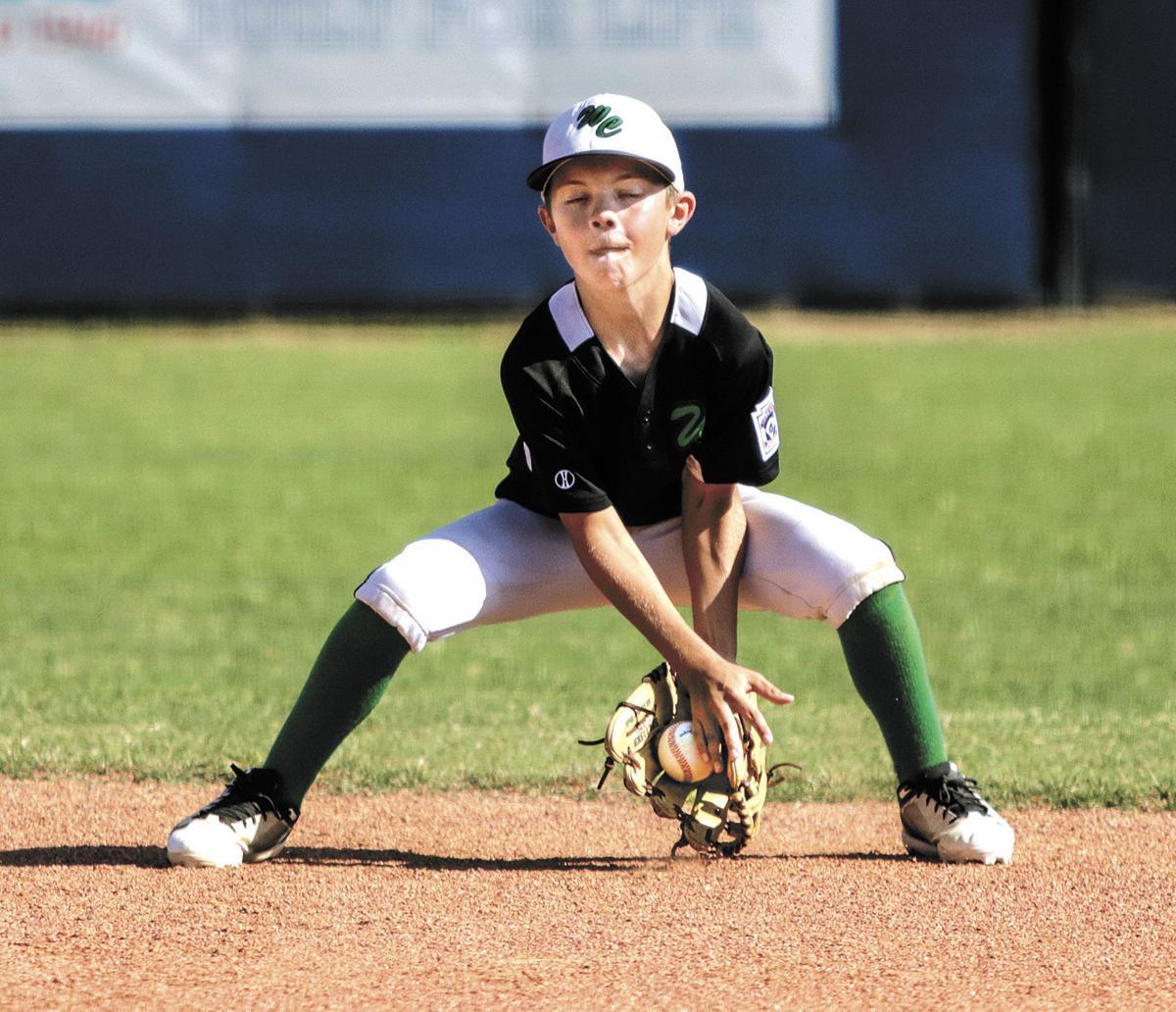 Washington County Little League's Brycen Carnagey