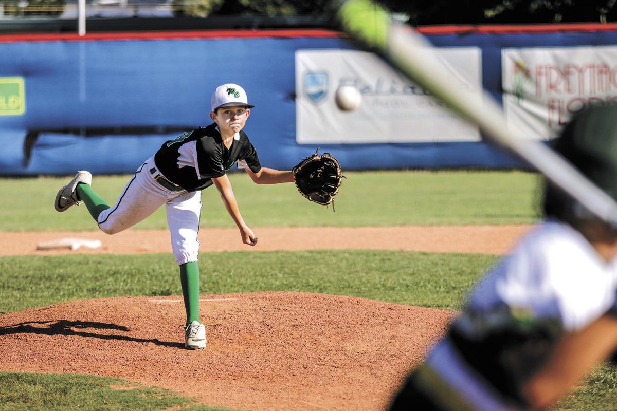 Washington County Little League's Owen Finke