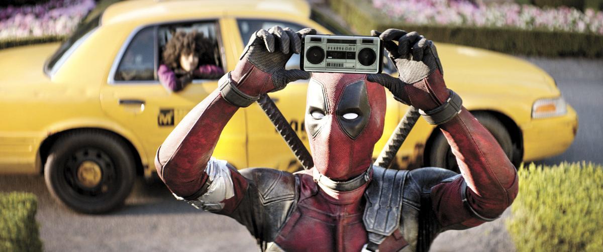 Ryan Reynolds stars as Deadpool