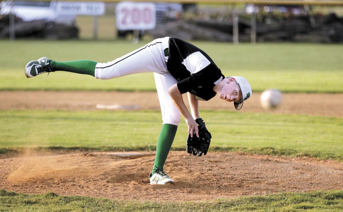Washington County Little League's Drake Bentke