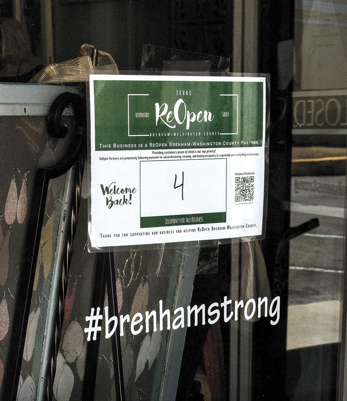 #BrenhamStrong
