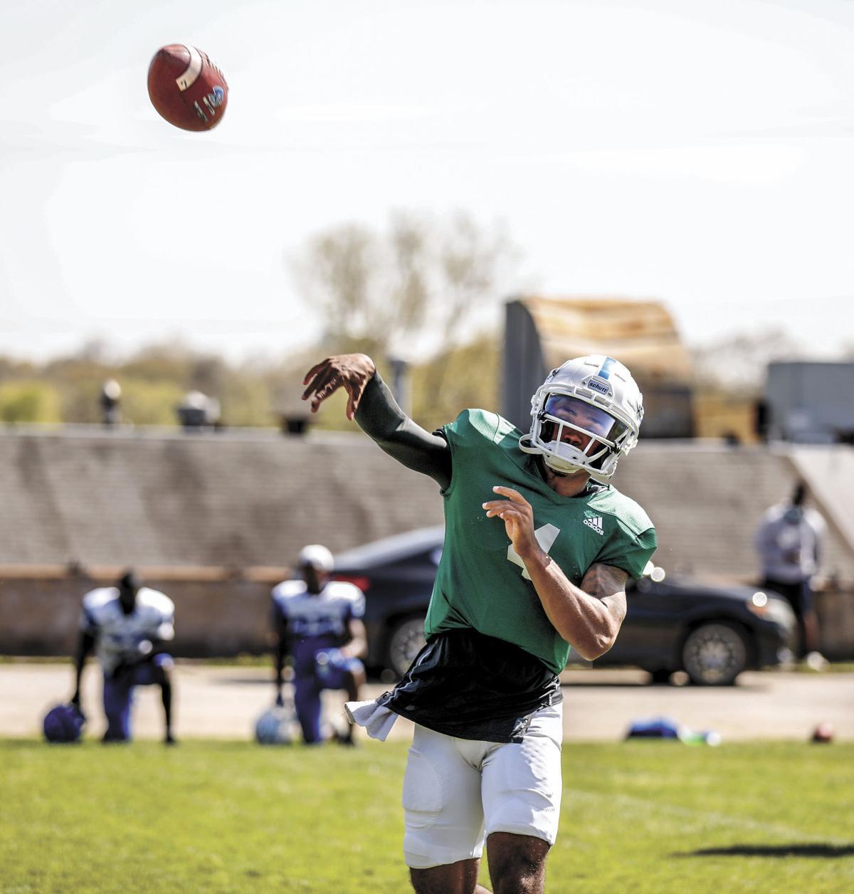 Blinn College quarterback Chandler Rogers