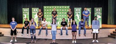 Brenham athletics sends 15 student athletes to college