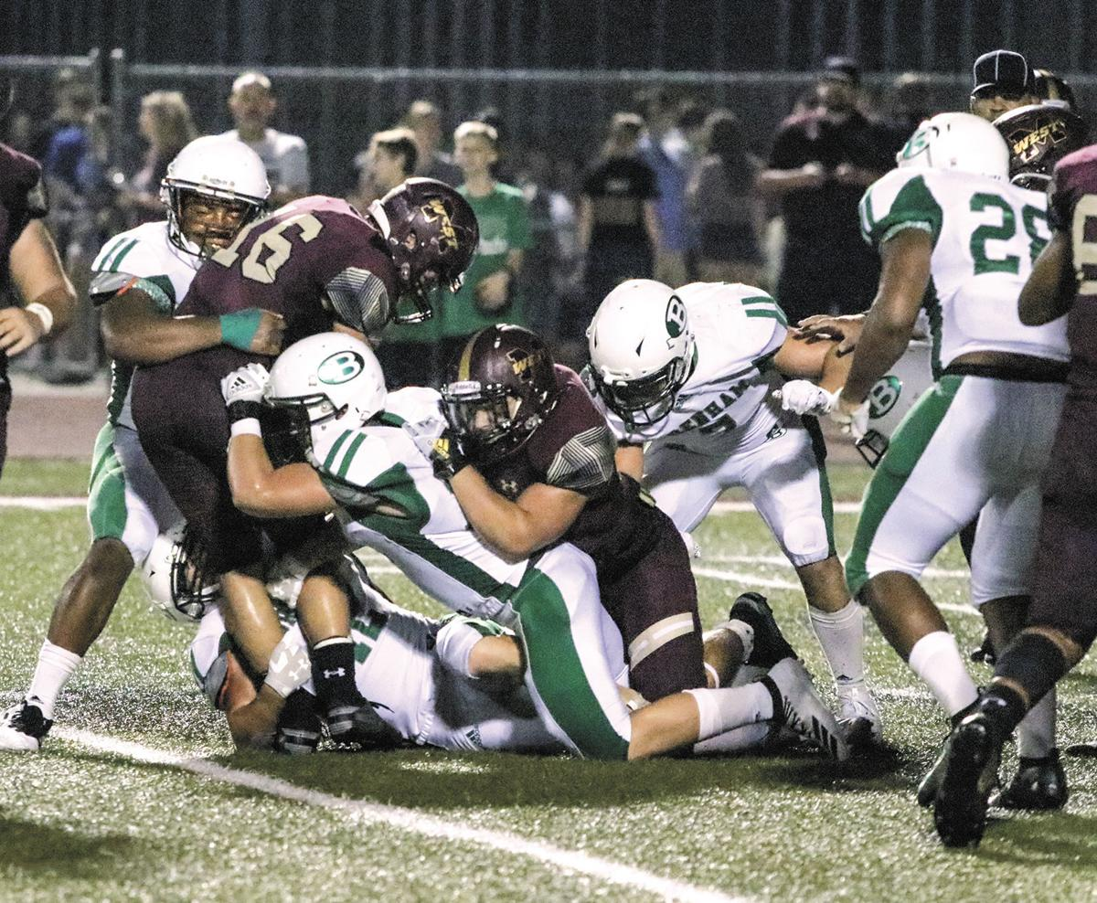The Cubs make the tackle