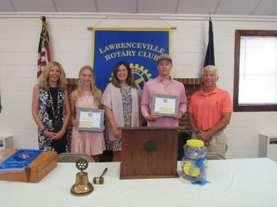 Rotary scholarships presented