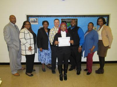 Special student recognized
