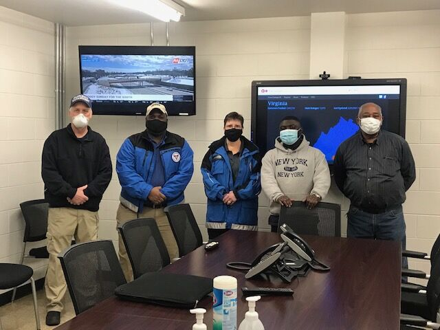 VDEM officials visit Brunswick