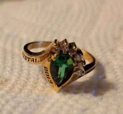 Class ring lost at Lake Phoenix, found and delivered
