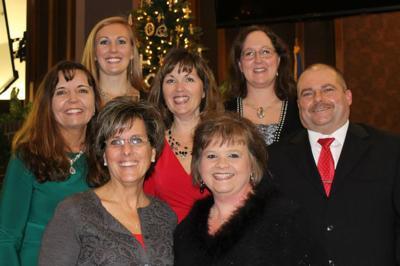 Tammy Hand, Wendy Keener, Darryl Keener, Patty Richardson, Dr. Julie Hawley, Patti Watson, Kathy Baird are pictured.