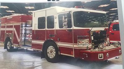 Montpelier fire truck