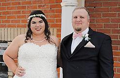 August wedding told