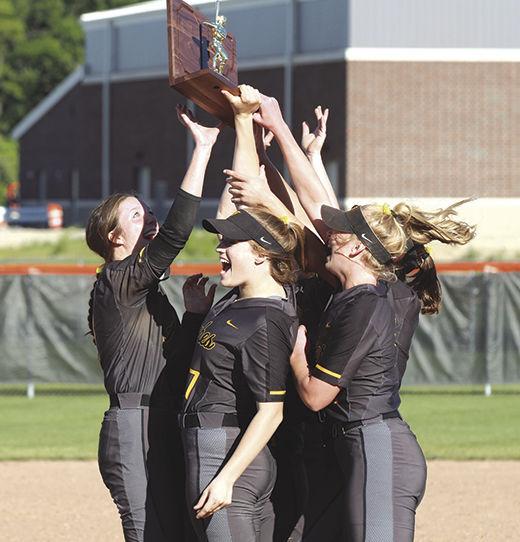 Fairview celebrates regional softball title