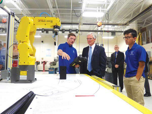 Rep. Bob Latta visits Four County Career Center