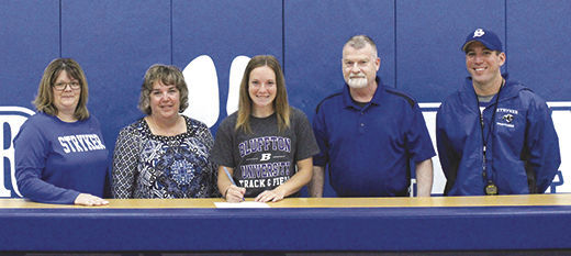 Stryker's Myers signs