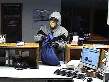 Oakwood bank robbed