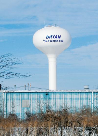 Bryan water tower