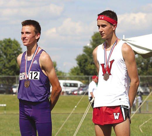 Taylor, Vernot receive medals