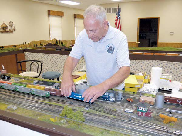 Model trains back at fair | Local News | bryantimes com