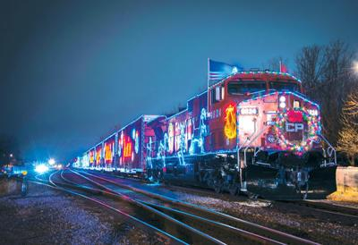 Cp Holiday Train Schedule 2020 Us Canadian Pacific Holiday Train may be dark when making passage