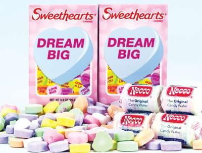 Spangler buys Sweethearts, Necco Wafers, Canada Mints, and New Era