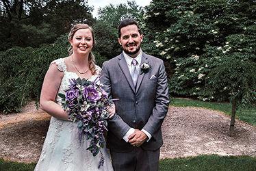 Wedding told