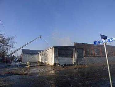 Defiance warehouse fire