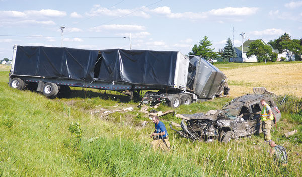 Two killed in crash