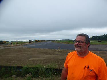 Phase I of the airport expansion nearing completion